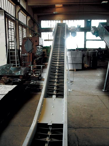 تجهیزات انتقال مواد - کانوایرهای تسمه ای و زنجیری BELT AND CHAIN CONVEYORS